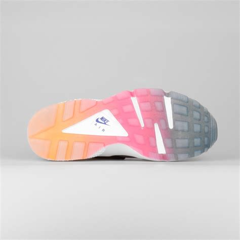 Nike Air Grey Pink Sol Rainbow buy nike air huarache run sd gradient rainbow neoprene s shoe black violet yellow