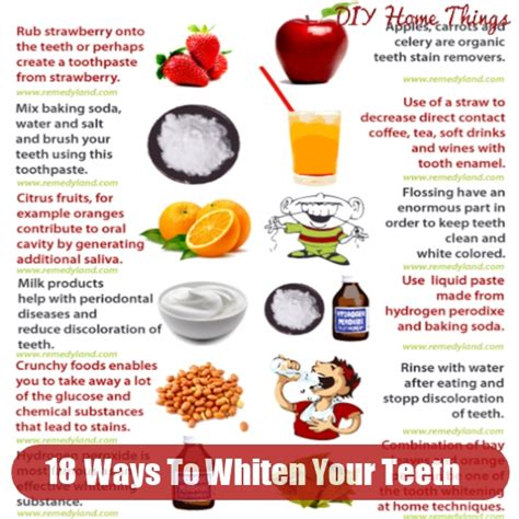 18 ways to whiten your teeth at home diy home things