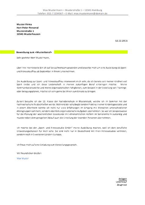 Bewerbungsschreiben Kassiererin bewerbungsvorlagen und muster 2018 meinebewerbung net