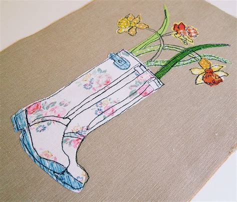 Embroidery Applique Tutorial by Freehand Machine Embroidery And Appliqu 233 Learn To Make