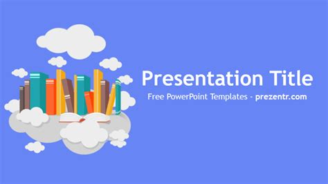Free Book Powerpoint Template Prezentr Powerpoint Templates Book Powerpoint Template