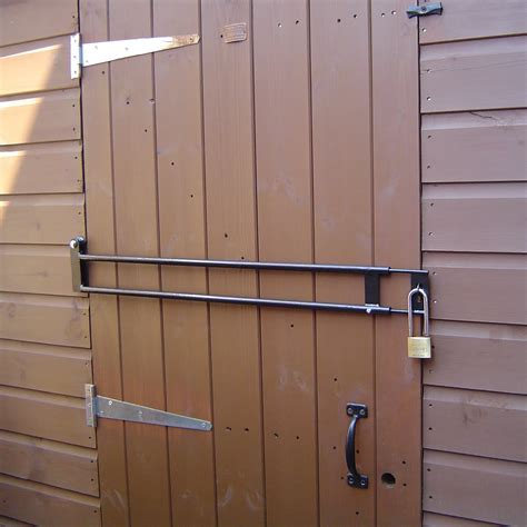 shedsafe security door bar next day delivery shedsafe
