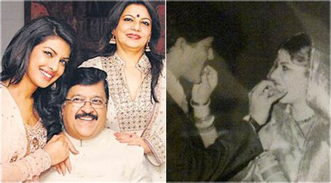 priyanka chopra early life photos priyanka chopra gets emotional on her parents wedding