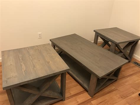2x4 Coffee Table White Rustic X Coffee Table With 2x4 X Diy Projects