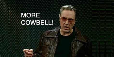 Christopher Walken Cowbell Meme - more cowbell filmdetail