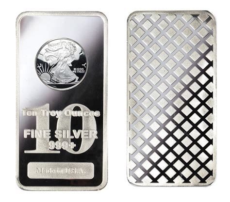 10 Ounces Of Silver by 10 Ounce Silver Bars Silver Bullion Westminster Mint