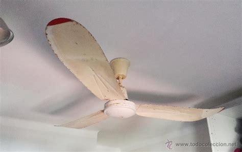 ventiladores de techo antiguos antiguo ventilador de techo tat comprar en todocoleccion