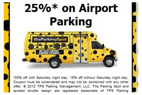 park atlanta airport coupons
