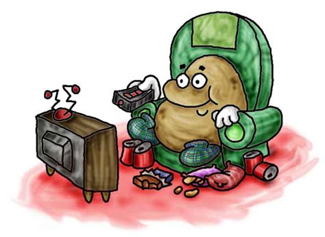 couch potato cartoon images couch potato clipart clipart suggest