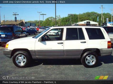 1998 White Jeep White 1998 Jeep Grand Laredo 4x4 Black