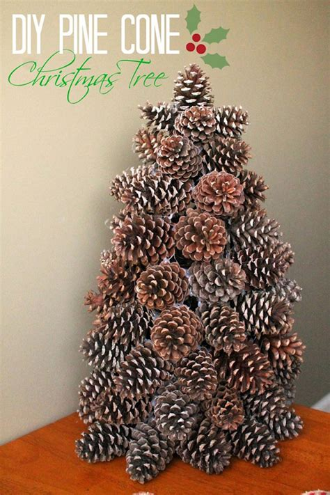 awesome diy christmas decoration ideas using pine cones