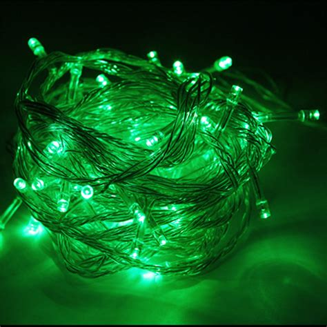 outdoor led light waterproof outdoor waterproof led string light 10m 100led ac110v or