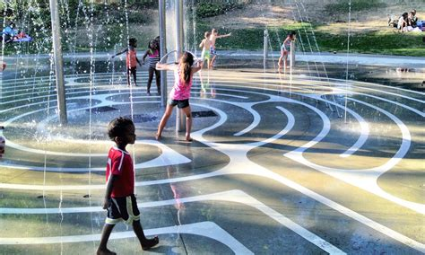 super spray parks  fountains  seattle