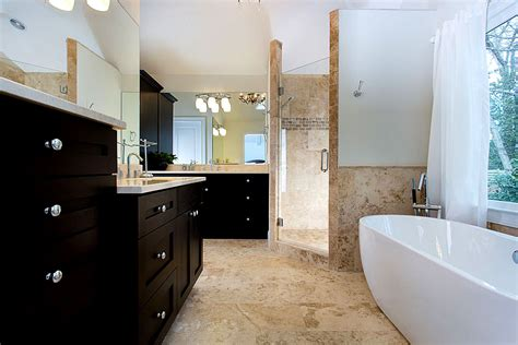 atlanta bathroom remodeling glazer design and construction