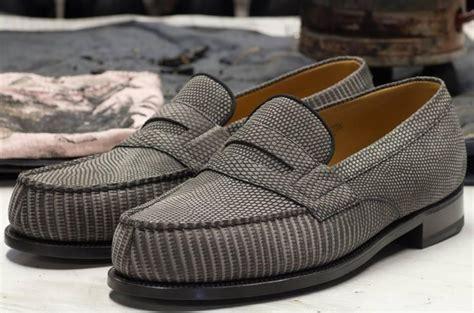 Jm 180 U chaussures weston en crocodile