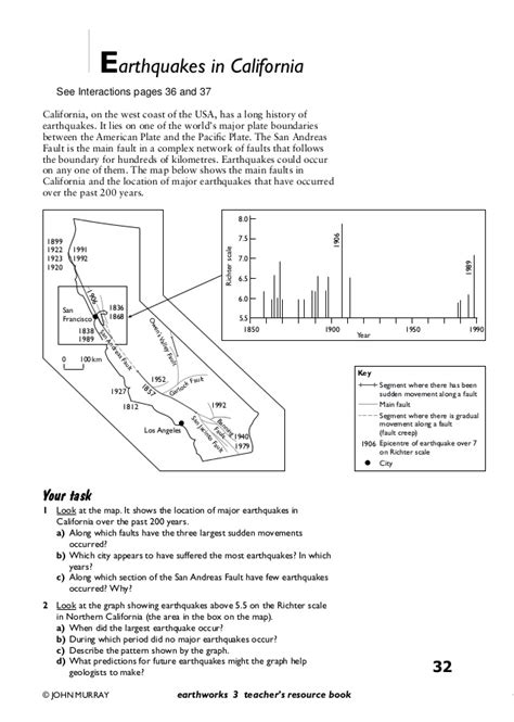 Volcanoes And Plate Tectonics Worksheet by Pictures Earthquakes And Volcanoes Worksheets Jplew