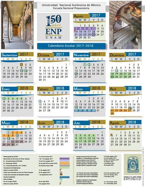 Calendario 2018 A Udg Colegio De Eeya M 250 Sica