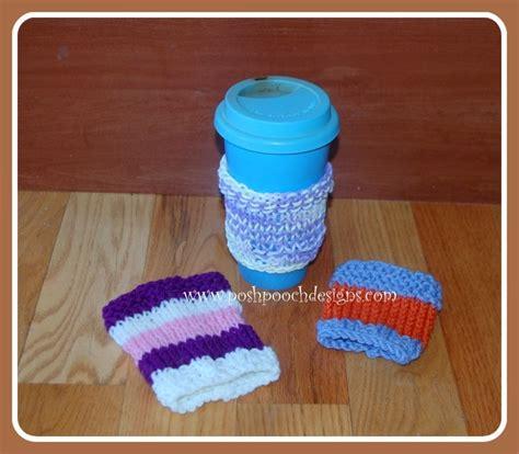 knitted coffee cozy easy knit coffee cozy pattern allfreeknitting
