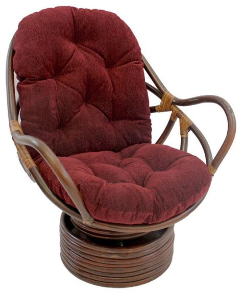 Rattan Swivel Rocker With Cushion Rocking Chairs By Rattan Swivel Rocker Chair Cushions