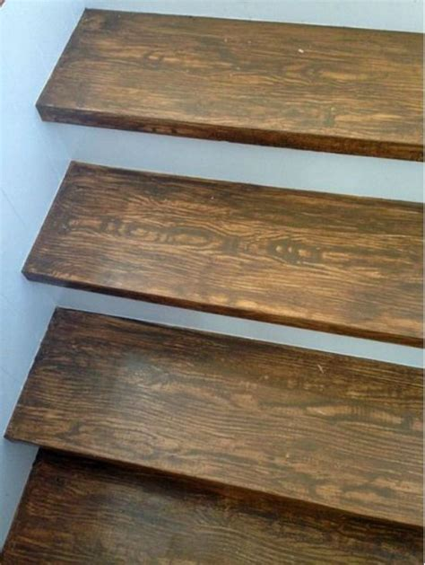 holz treppenstufen faux wood grain stair treads things i like