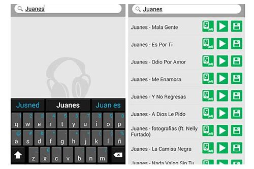 descargar musica gratis de la pc a android