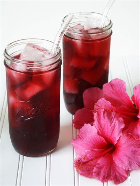raw vegan agua de jamaica hibiscus tea