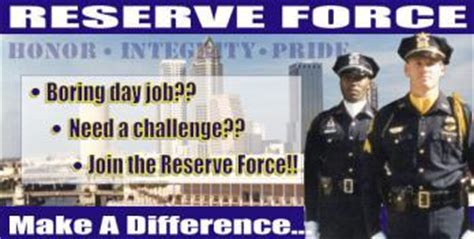 auxiliary/reserve force | city of tampa