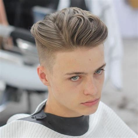 mens hairstyle with part 613 best images about cortes masculinos cabelo masculino