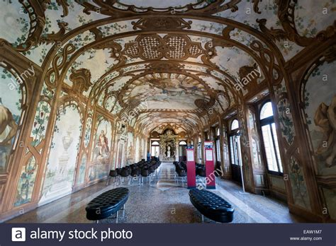 Italian Garden Mantua by Sala Dei Fiumi Ducal Palace Mantua Stock Photo Royalty