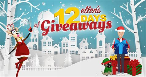 Ellen Degeneres 12 Days Of Giveaways Contest - the ellen degeneres show vixen s give a little love today giveaway