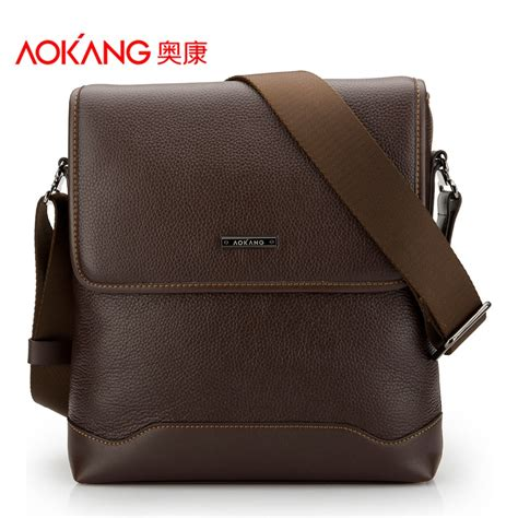 and shoulders color safe aokang top quality genuine leather s shoulder bags 2