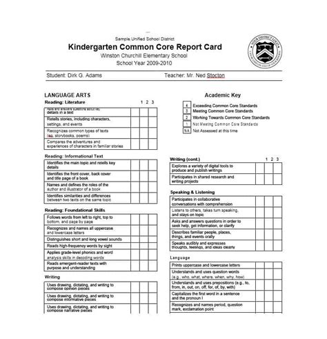 Report Card Template Palm County by Report Card Maker Jose Mulinohouse Co