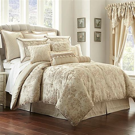 waterford comforter set waterford 174 linens castlequin comforter set bed bath beyond