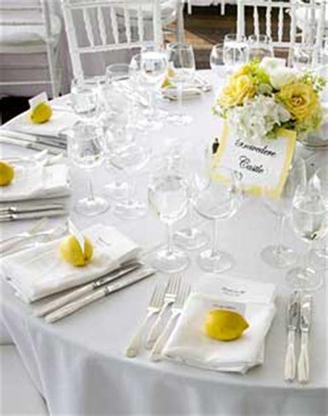 table setting ideas wedding