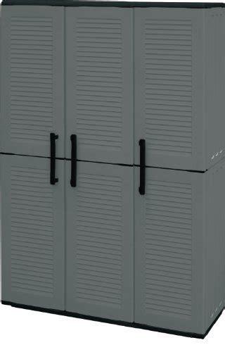 armadio 3 ante economico plast armadio 3 ante da esterno alto in plastica