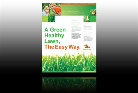 lawn care flyers design