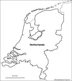 netherlands map black and white geography netherlands outline maps