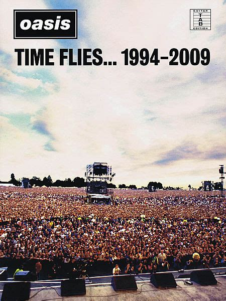 libro time flies reflections of oasis time flies 1994 2009 guitar tablature libro spartiti chitarra musica supersonic