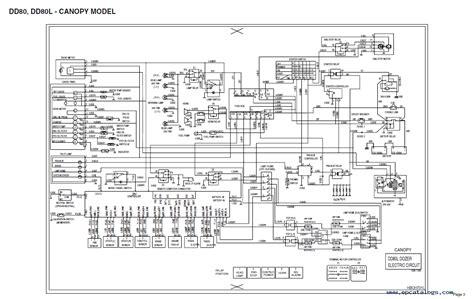 doosan electrical hydraulic schematics manual repair