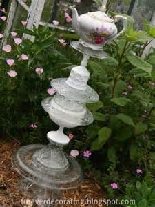 glaskunst garten forever decorating garden totem
