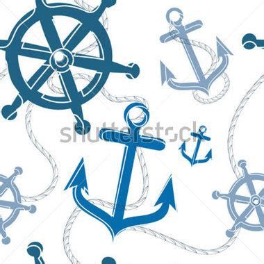 seamless nautical pattern nautical seamless pattern stock vector clipart me