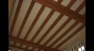 photos plafonds avec poutres plafond platre