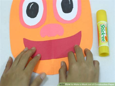 How To Make An Mask Out Of Paper - how to make a mask out of construction paper with pictures