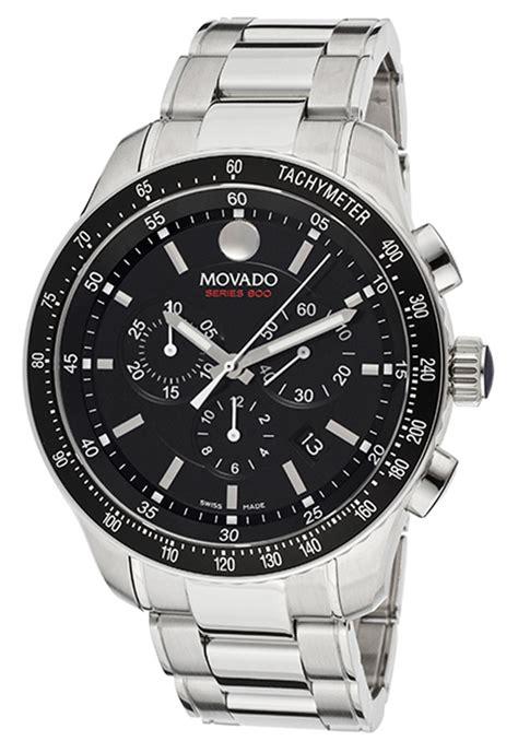 Gc Chrono Black Batrei All Stell 2600094 movado gent series 800 black steel and bracelet quartz chrono