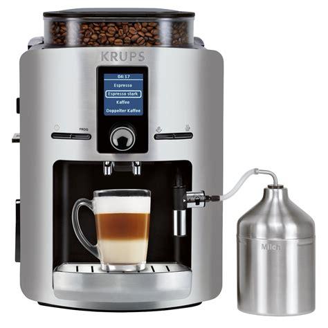 Coffee Maker Krups tested krups ea 826e coffee machine