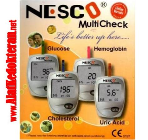 Tensimeter Manual Surabaya jual nesco multi check 4 in 1 di malang agen nesco 3 in 1