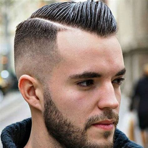 combed fade forward comb over hairstyles for men 2018 bald fade haircuts