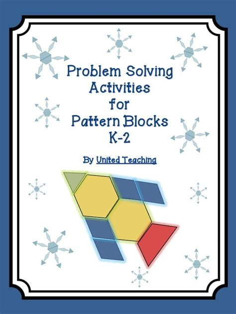 how to solve pattern in math 17 best images about pattern blocks on pinterest math