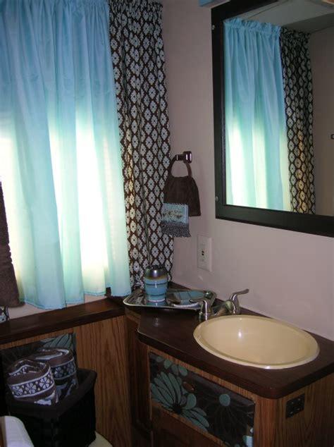 small rv with bathroom rv trailer bathroom redo rv cer and trailer style