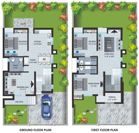indian bungalow designs and floor plans home ideas